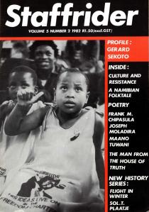 Staffrider 1982 front cover